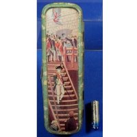 1910's Tin Pencil Case Art of Admiral Horatio Nelson