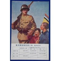 "1930's Japanese Postcard ""2 year anniversary of Manchurian Incident (Mukden Incident)"""
