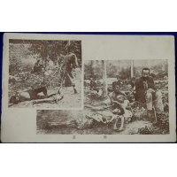 1920's Japanese Postcards : Photos of Russian Famine published by The Japan Women Voluntary Relief Association for the Russian famine ( tragic )