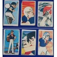 1960's Speed Racer Japanese Menko Cards / Mach Go Go Go