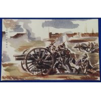 "1930's Japanese Navy Landing Forces Postcards Memorial for ""Shanghai Incident"" (Naval Landing Forces artillery position)"