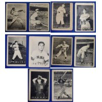 Early 1950's Japanese Baseball Photo Cards