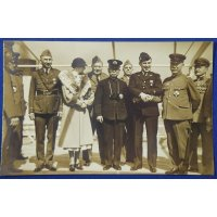 1920's Postcards Memorial for the Visit of the US Army WW1 Served Veterans Association
