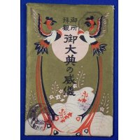1920's Japanese Postcards Traditional Shinto Ceremonies for the Emperor Enthronement