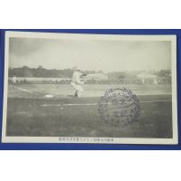 1910 Japanese Baseball Photo Postcards Commemorative for Waseda University & University of Chicago Baseball Match