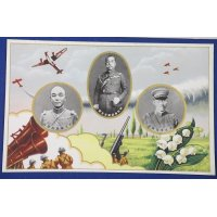 """1936 Japanese Postcards """"Special Large Scale Army Maneuver"""" in Sapporo Hokkaido"""