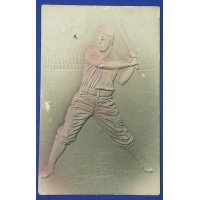 Vintage US Baseball Postcard ( Embossed )