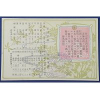 """1900's Japanese Navy Postcard """"12th Anniversary of Battle of the Yalu River ( First Sino Japanese War )"""" The Emperor Meiji's ordinance to praise the victory"""