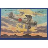 "1930's Japanese Navy Air Corps Postcards ""The Ferocious Sea Eagles"" / [ Type 94 Carrier Bomber ( Aichi D1A) ]"
